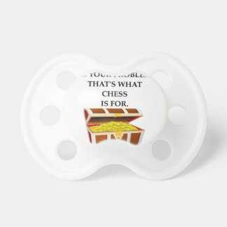 CHESS PACIFIER