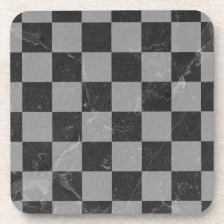 Chess pattern coaster