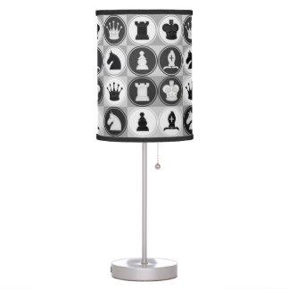 Chess Pattern Desk Lamp
