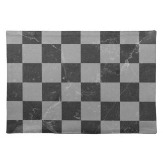 Chess pattern placemat
