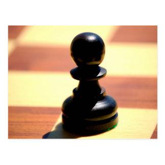 Chess Pawn Postcard