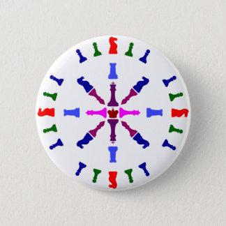 Chess Piece Design 2 Inch Round Button