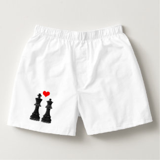 Chess Pieces: King and Queen Boxers