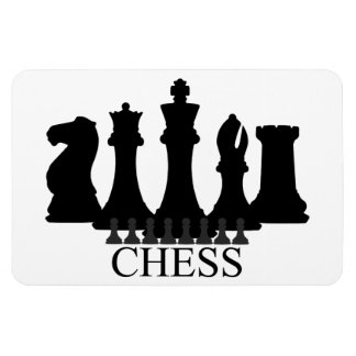 Chess Pieces Magnet