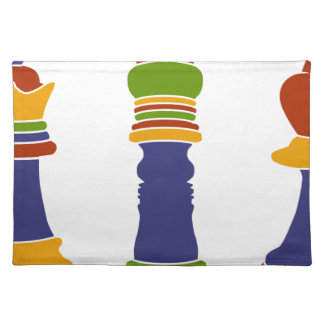 Chess Pieces Placemat