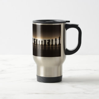Chess Pieces Travel Mug