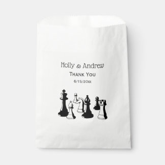 Chess Pieces Vintage Art #2 Favour Bag