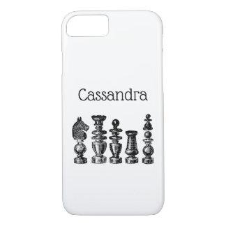 Chess Pieces Vintage Art iPhone 8/7 Case