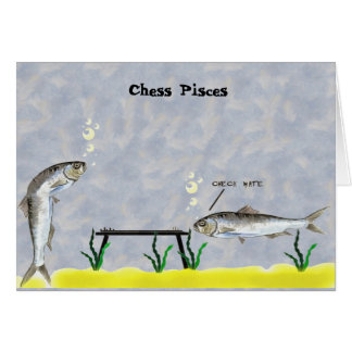 Chess Pisces Card