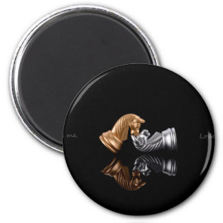 Chess Play Game 2 Inch Round Magnet