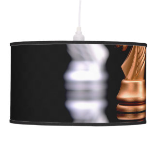 Chess Play Game Ceiling Lamp