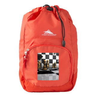 Chess Play King Backpack
