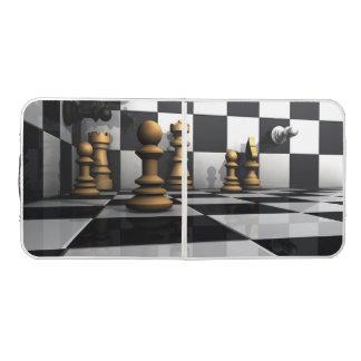 Chess Play King Beer Pong Table