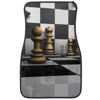 Chess Play King Car Mat