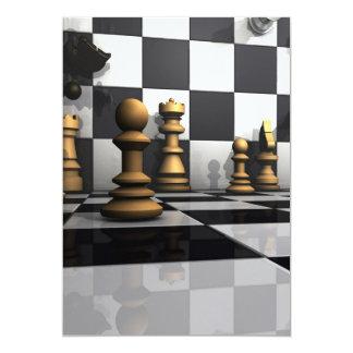 Chess Play King Card
