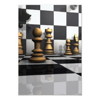 Chess Play King Card