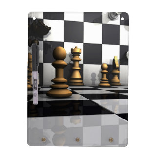 Chess Play King Dry Erase Board