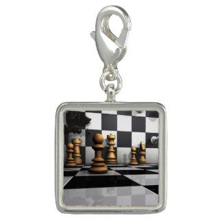 Chess Play King Photo Charms
