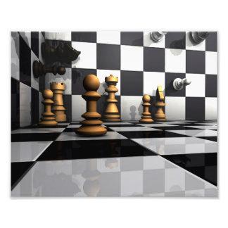 Chess Play King Photo Print