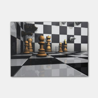 Chess Play King Post-it® Notes