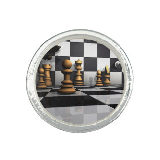 Chess Play King Rings