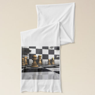 Chess Play King Scarf