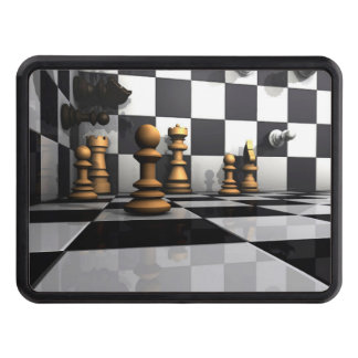 Chess Play King Trailer Hitch Covers