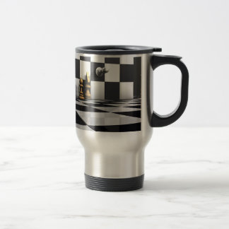 Chess Play King Travel Mug