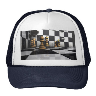 Chess Play King Trucker Hat
