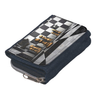 Chess Play King Wallet