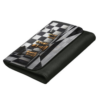Chess Play King Wallets For Women