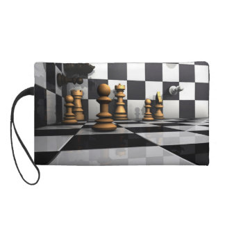 Chess Play King Wristlet