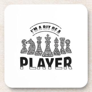 Chess Player Coaster