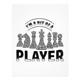 Chess Player Letterhead