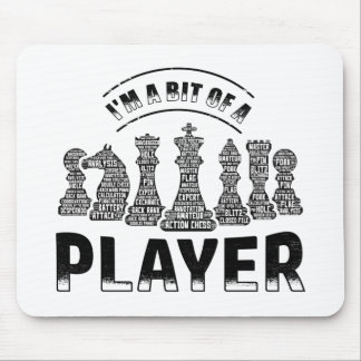 Chess Player Mouse Pad