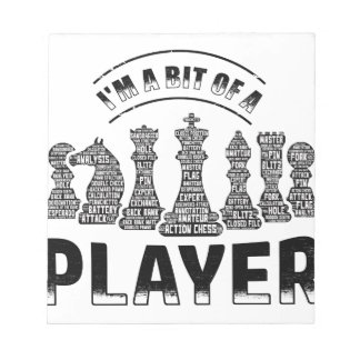 Chess Player Notepad
