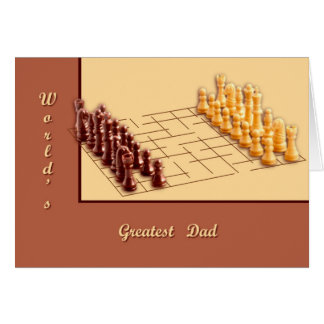 Chess Set Greeting Card