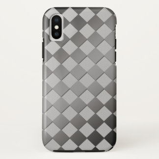 Chess Square Black White iPhone X Case