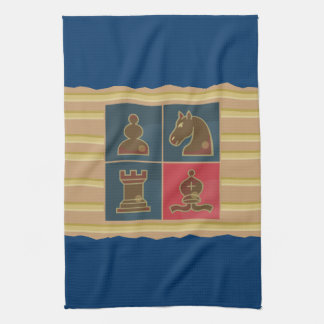 Chess Squares Kitchen Towel