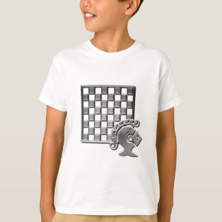 Chess Strategy Kid's Fitted T-Shirt