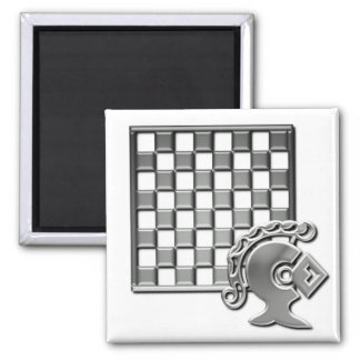 Chess Strategy Square Magnet