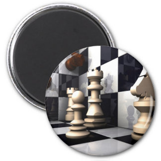 Chess Style 2 Inch Round Magnet