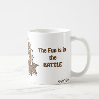 Chess, The fun is in the battle, Chess Matters Coffee Mug