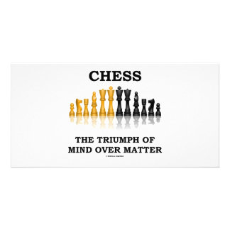 Chess The Triumph Of Mind Over Matter Picture Card