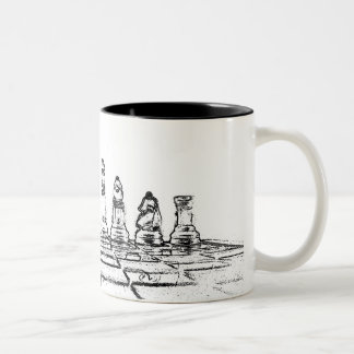 Chess Two-Tone Coffee Mug