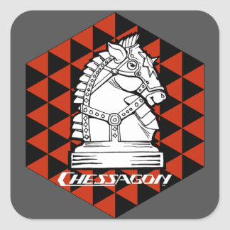 "CHESSAGON 3"" Stickers (sheet of 6)"