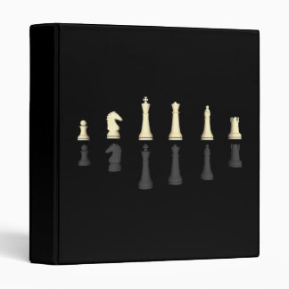 Chessboard & Chess Pieces: Custom Binder