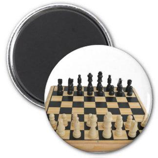 chessboard design 2 inch round magnet