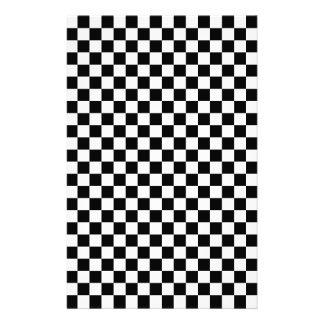 Chessboard sample stationery