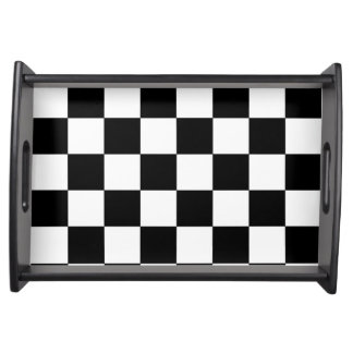 Chessboard Serving Tray